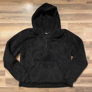 Black Teddy Sweatshirt